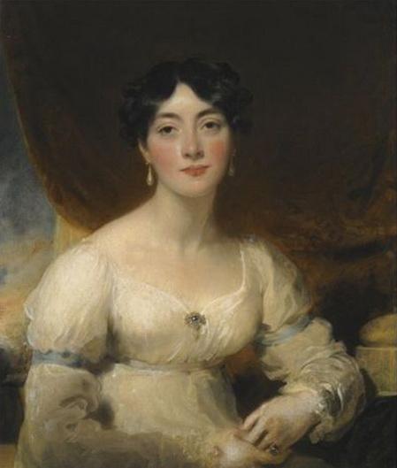 Thomas Lawrence - Portrait of Elizabeth, Mrs Horsley