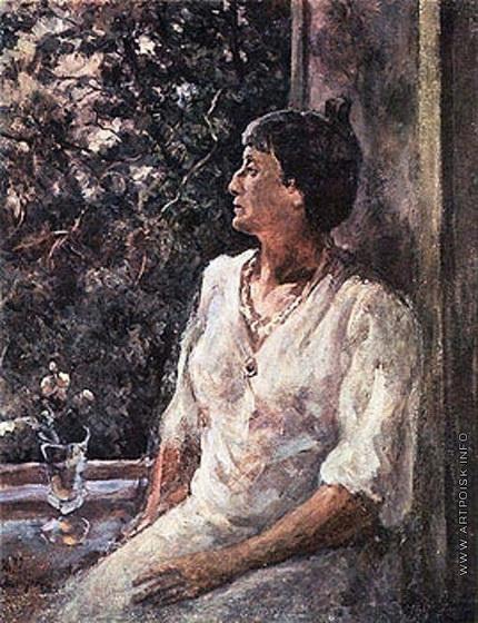 Осмеркин - Портрет Анны Ахматовой