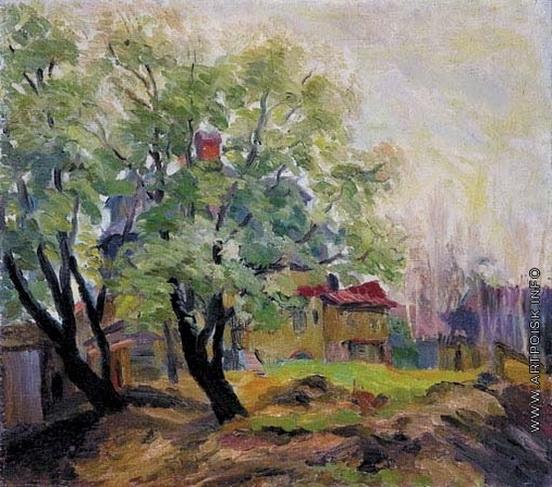 Осмеркин - Сад летом
