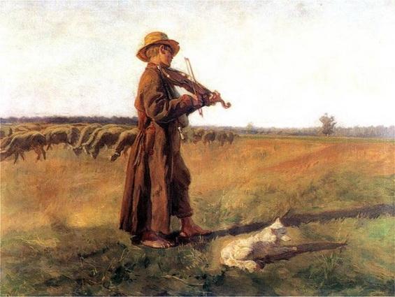 Jozef Chelmonski -  The Sheep-dog