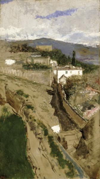 Mariano Fortuny - granada landscape