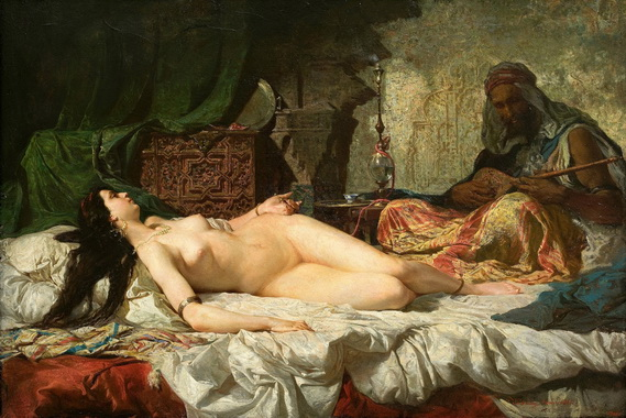 Mariano Fortuny - the odalisque