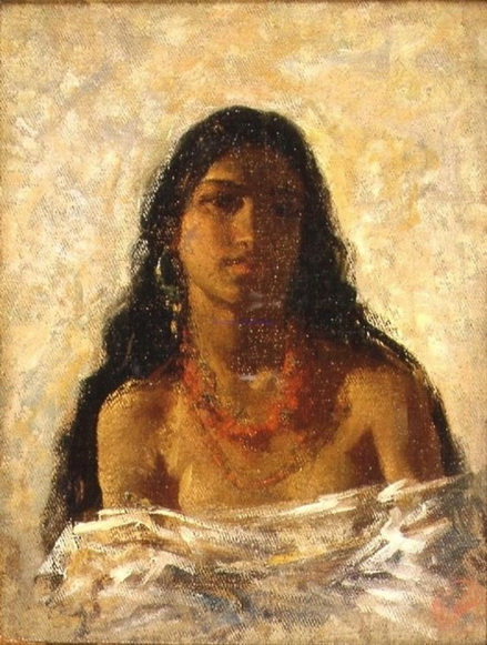 Mariano Fortuny - Gypsy Girl