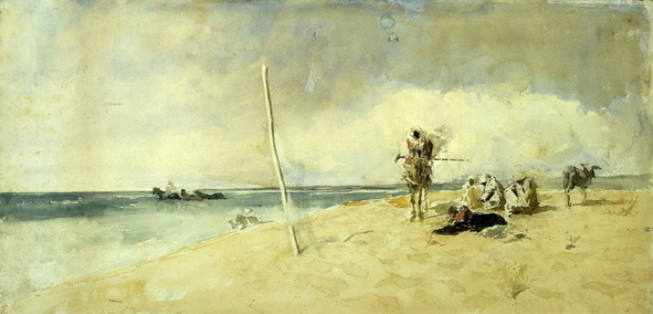 Mariano Fortuny - african beach