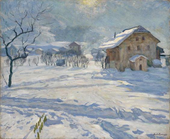 Лаховский - Зимний пейзаж