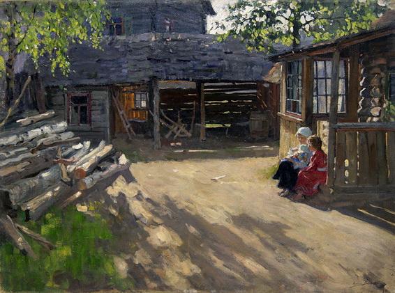 Лаховский - На солнышке
