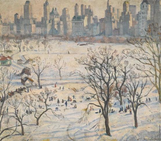 Лаховский - Зима в Центральном парке