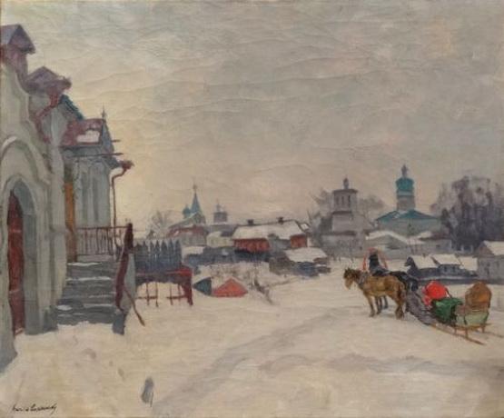 Лаховский - Зимний Псков
