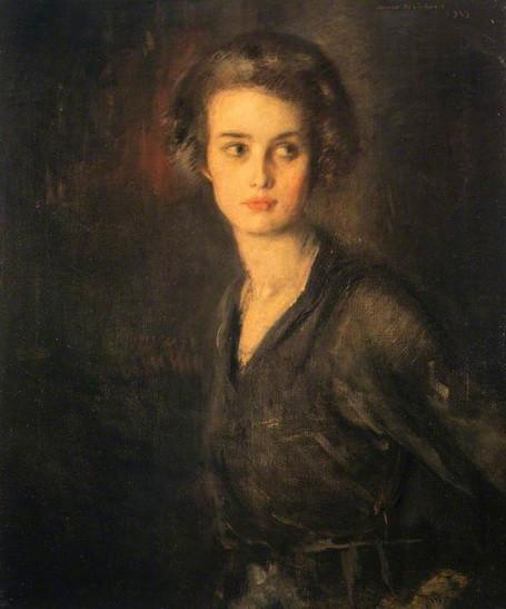 David Muirhead - Portrait of a Lady