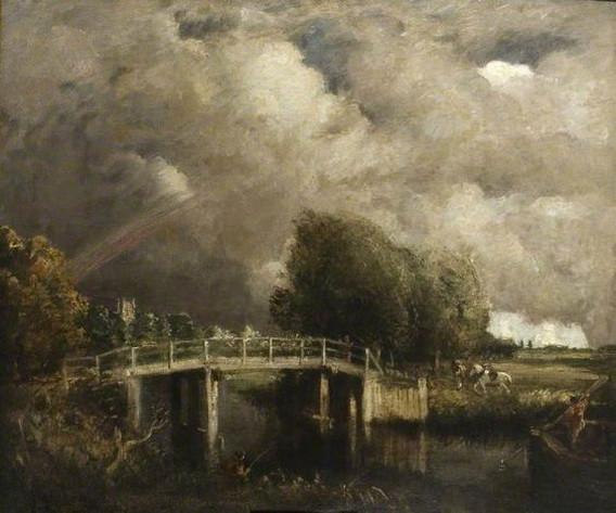 David Muirhead - The Fen Bridge, Dedham