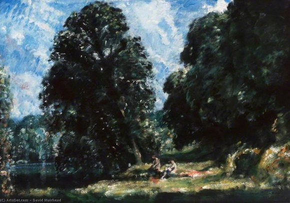 David Muirhead - A Yorkshire River, Summer