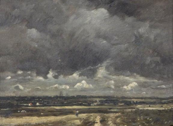 David Muirhead - A Lowland Landscape