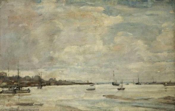 David Muirhead - Estuary of the Thames