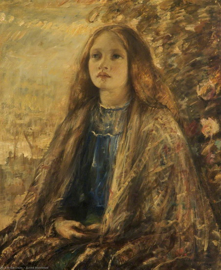 David Muirhead - Portrait of a Girl 2