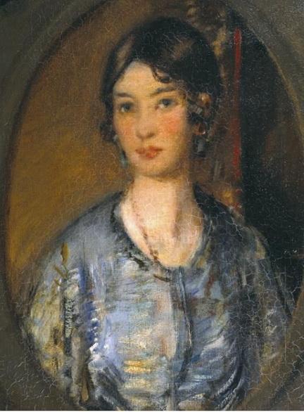 David Muirhead - Portrait of a Girl