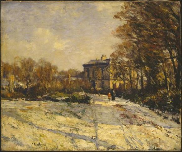 David Muirhead - Snowy Morning