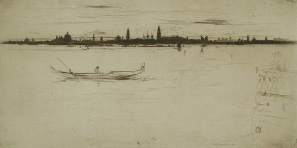 David Young Cameron - Venice from the Lido