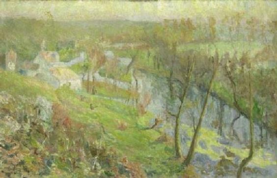 Emilio Boggio - Le moulin de Perigny