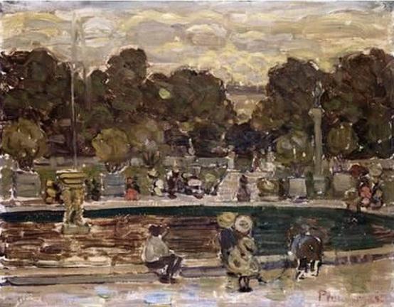 Emilio Boggio - Sailboat Pond