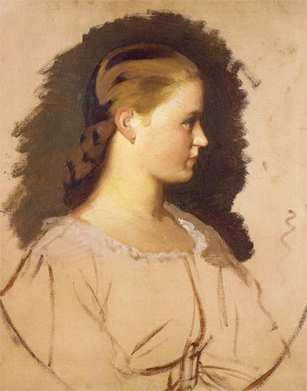 Artur Grottger  - Klementyna Szembekowa