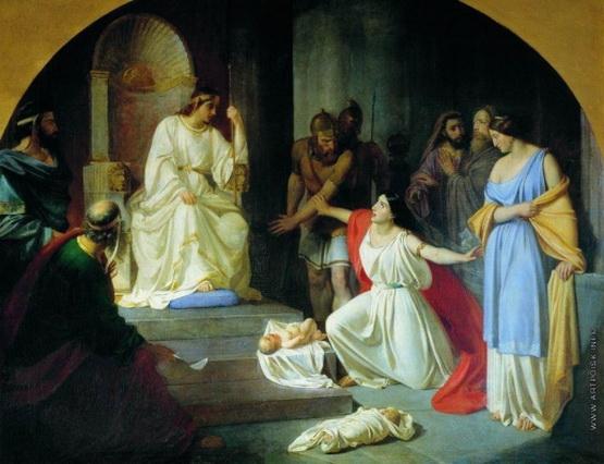 Ге Николай - Суд царя Соломона