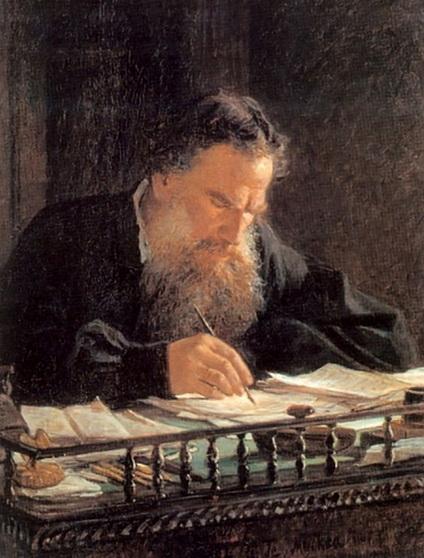 Ге Николай - Портрет писателя Льва Николаевича Толстого