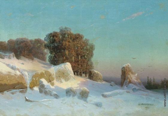 Мещерский - Зимний пейзаж