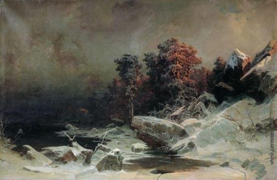 Мещерский - Зимний вечер в Финляндии