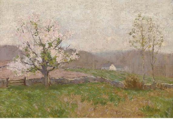 Bruce Crane - Spring Blossoms