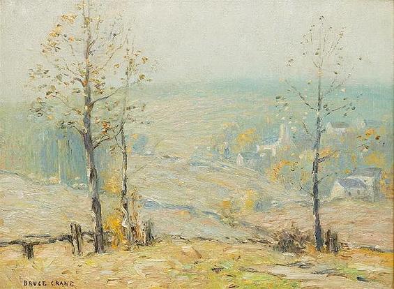 Bruce Crane - A New England Fall