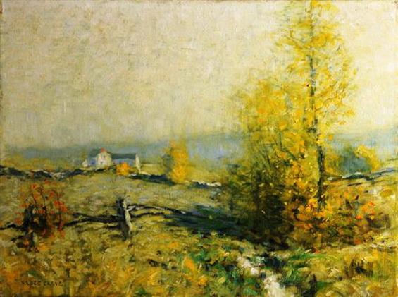 Bruce Crane - Golden Autumn