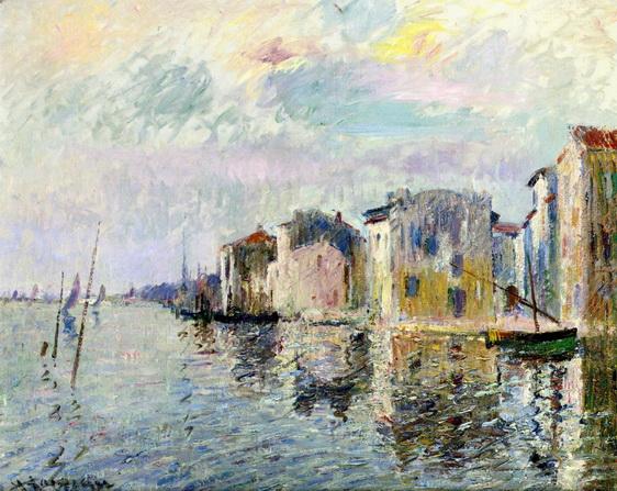 Gustave Loiseau - Les Martigues