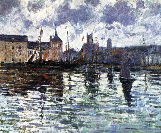 Gustave Loiseau - The Harbor at Dieppe