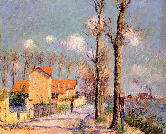 Gustave Loiseau - By the Oise at Pontoise