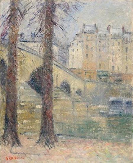 Gustave Loiseau - Le pont Marie