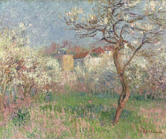 Gustave Loiseau - Spring Outskirts of Pontoise