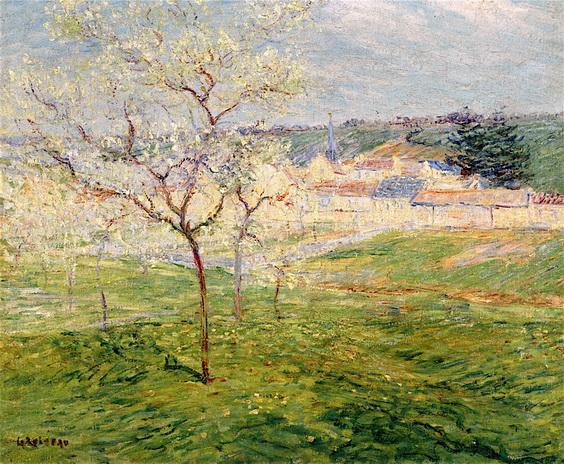 Gustave Loiseau - Verger Au Printemps