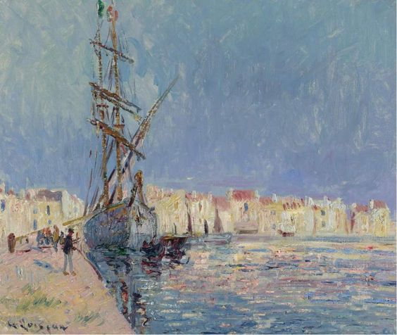 Gustave Loiseau - The Martigues the Port of Ferriere