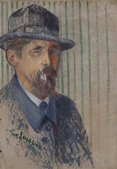 Gustave Loiseau - Autoportrait