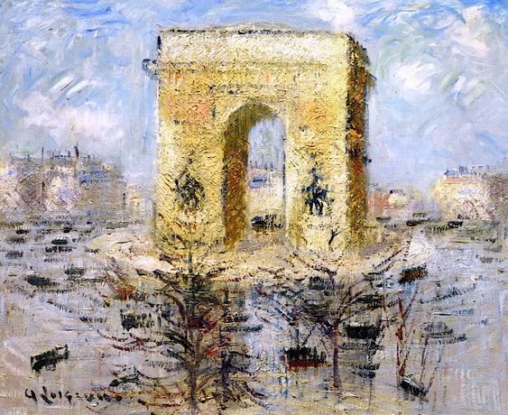 Gustave Loiseau - L'Arc de Triomphe