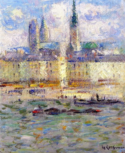Gustave Loiseau - Rouen Cathedral