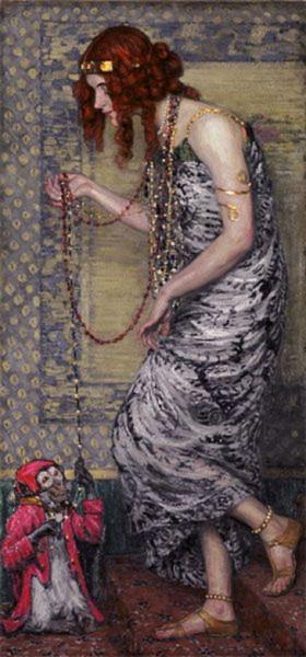 Janis Rozentals - princess and monkey