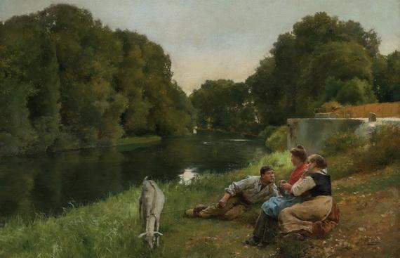 Jose Jimenez Aranda - Conversation Along the River