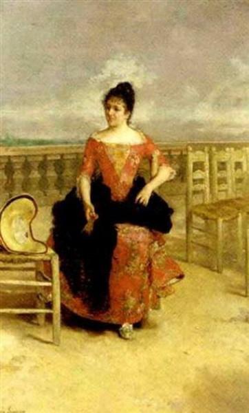 Jose Jimenez Aranda - Awaiting a visitor