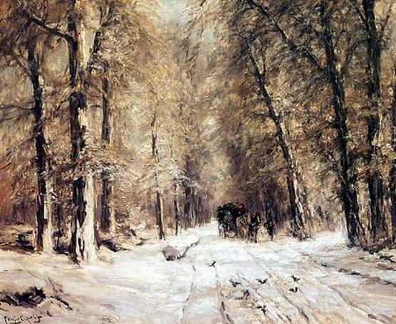 Louis Apol - Paisaje de invierno