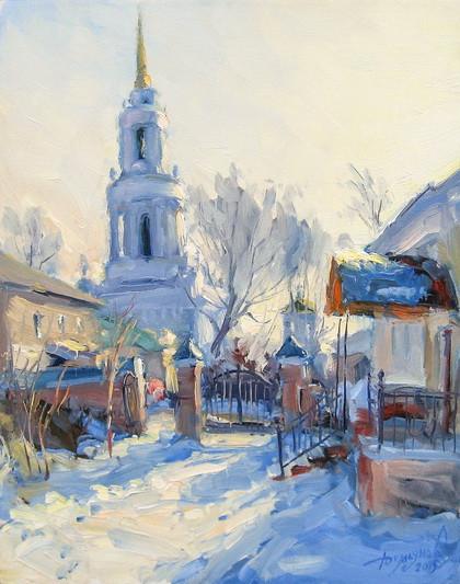 Демьянов Юрий - зимняя.. колокольная