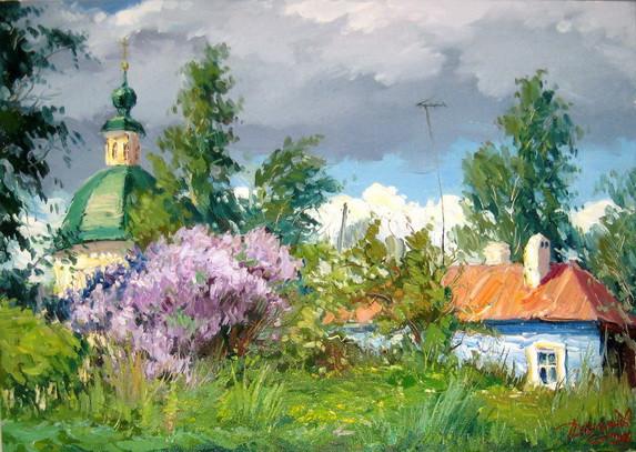 Демьянов Юрий - сиреневый май
