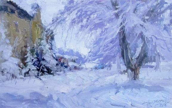 Демьянов Юрий - зимний этюд