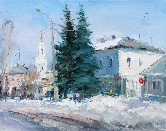 Демьянов Юрий - белым-бело
