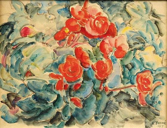 Verner Thome - Blommor